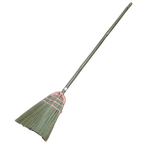AEC Indoor/Outdoor Stiff Sweeping Brush Head W/Handle