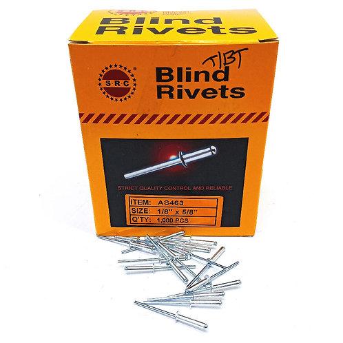 S.R.C 1/8''x5/8'' Alum Blind Rivets AS463