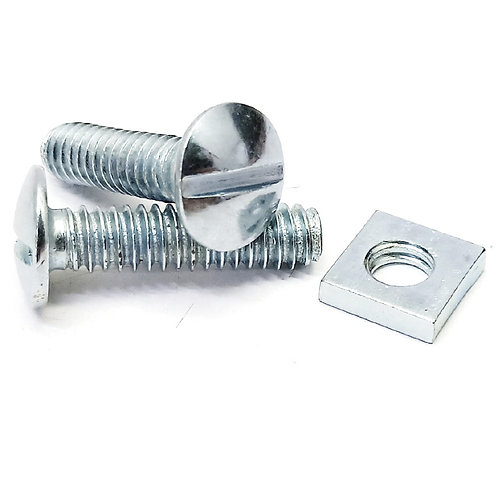 RBN625 Galv Roofing Bolt & Nut 1/4x1''