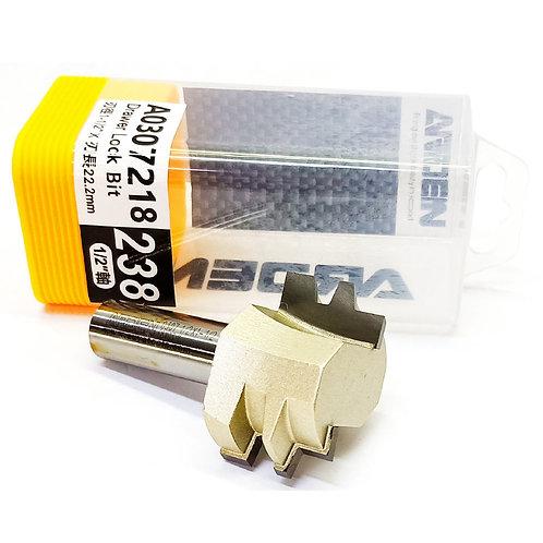 """#238 1/2""""x1-1/2""""x22.2mm Arden Drawer Lock Bit"""