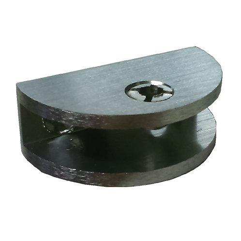 Aro AHG08B-38BN Glass Clip Round Alum