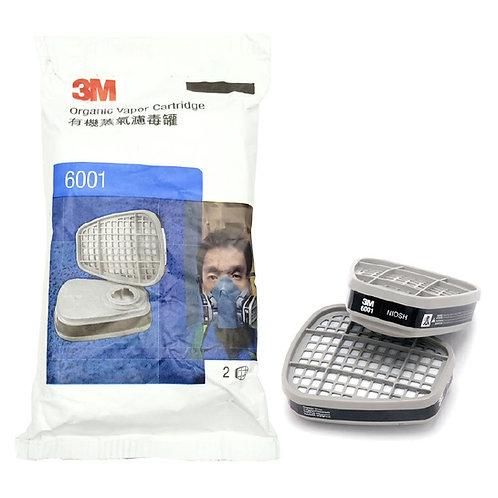 3M™ Organic Vapor Cartridge 6001