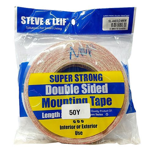 Steve & Leif Super Strong Double-Sided Mounting Tape 24mm by 50Y SL-4465