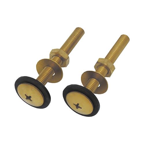 8318 75mm Brass Fastener Bolt & Nut for Cistern