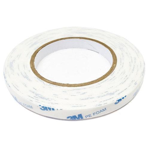 3M PE Foam Tape White 12mmX8m 303-1600/W-1