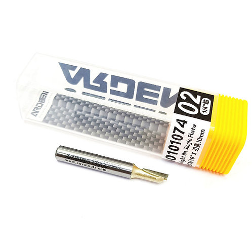 #2 1⁄4''x3⁄16''x10mm Arden Straight Bit Single Flute