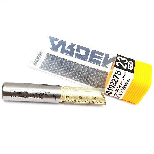 #23 1⁄2''x1⁄2''x30mm Arden Straight Bit Double Flute