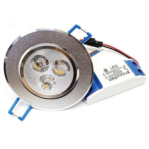 Aluminium Holder Warm White 3W LED Eye Ball Series