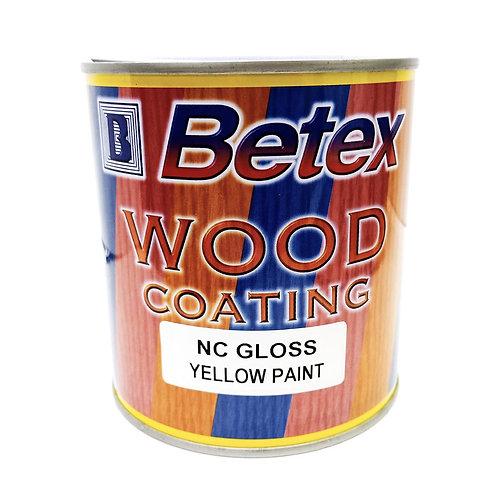 Betex Wood Coating NC Gloss Yellow Paint 1L
