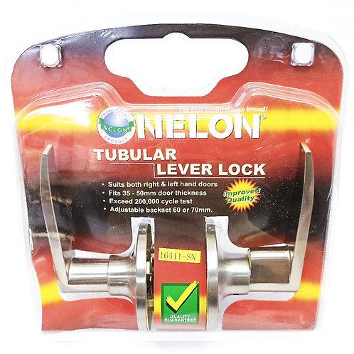 Nelon 16411 Tubular Lever Lock SN