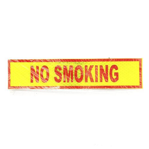 "2""x9"" No Smoking Label"