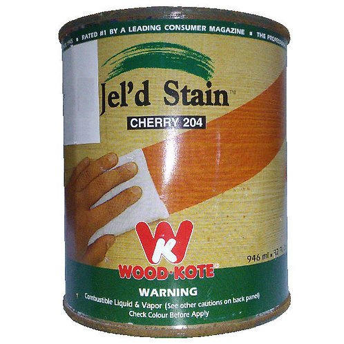 Jel'd Stain Cherry 204 Wood Kote 946 ml