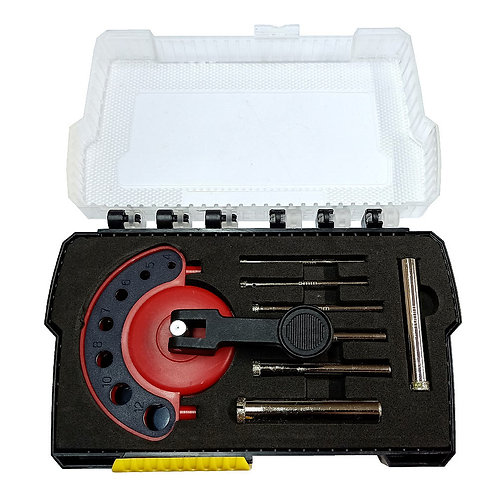 Aiko Diamond Holesaw Kit with Drill Position 4-12mm