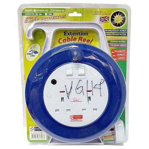 6M Cable Reel DT9800-2D DT-0082 D.T. England