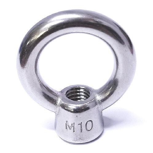 10mm Eye Nut SEN10 304 SS