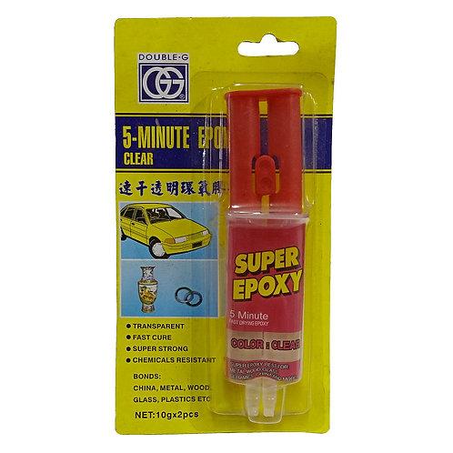 Double G Epoxy Clear 5-Minute 10gx2PCS