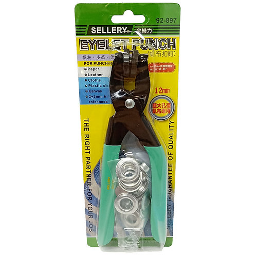 SELLERY 92-897 Eyelet Punch 12mm
