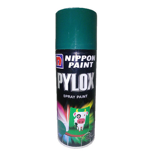 Nippon Paint Pylox Spray Paint 27 Gem Green 400CC