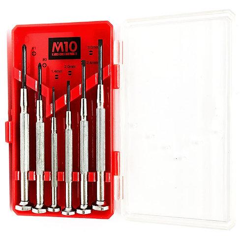 M10 1300 6-Piece Jewellers Screwdriver Set