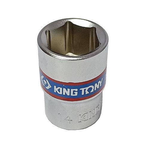 "King Tony 3/8""x14mm 6P Socket 333514M"