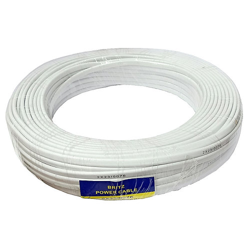 BRITZ 2X23 076 White PVC
