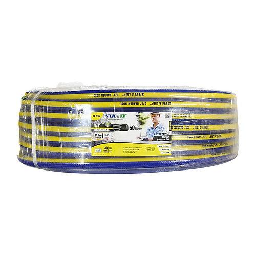 SL-916 Steve & Leif 5/8''x50m Blue Yellow Garden Hose
