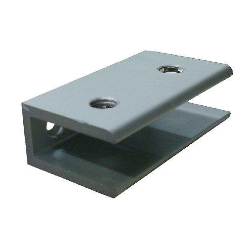 Aro AHG12-60BN Glass Clip Rect Matt Alum