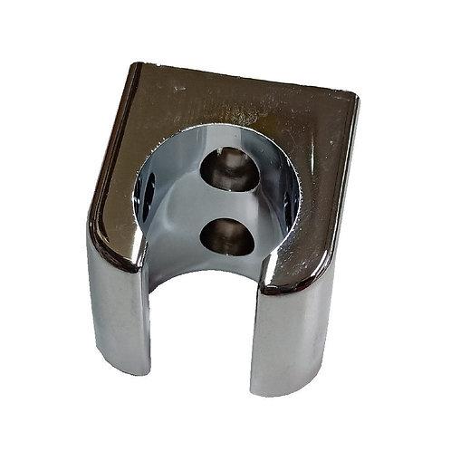 00406 Shower Holder Double Chrome