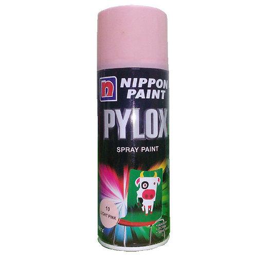 Nippon Paint Pylox Spray Paint 10 Light Pink 400CC