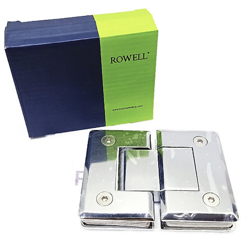 Rowell SH-773-3 Shower Hinge Glass to Glass 180Deg CP
