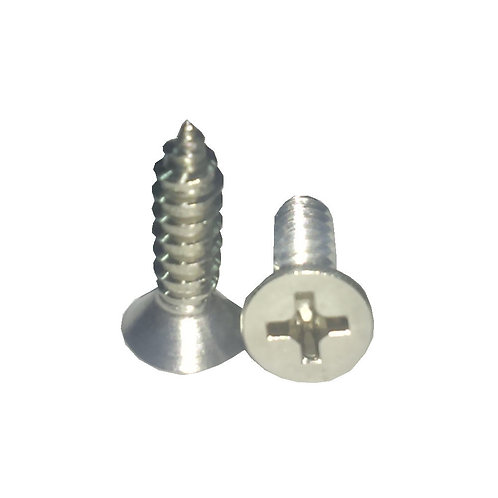 """CSK Self Tapping Screw+ 8x5/8"""" A2-304 SS"""