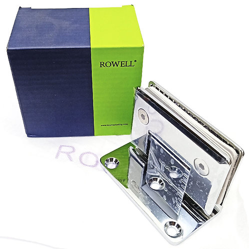 Rowell SH-773-1A Shower Hinge Wall to Glass CP 3SH