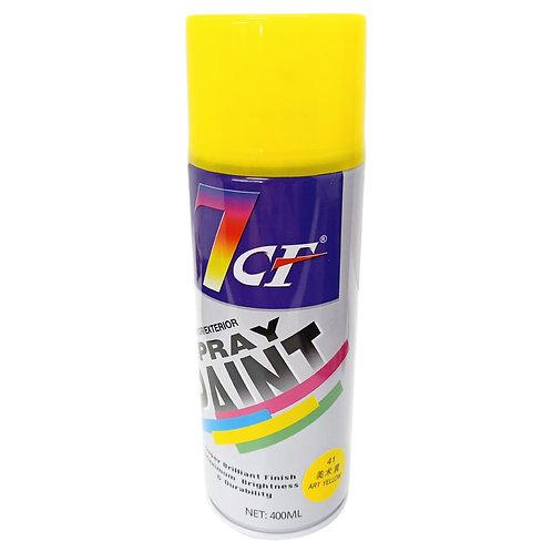 7CF 41 Art Yellow Spray Paint 400ml