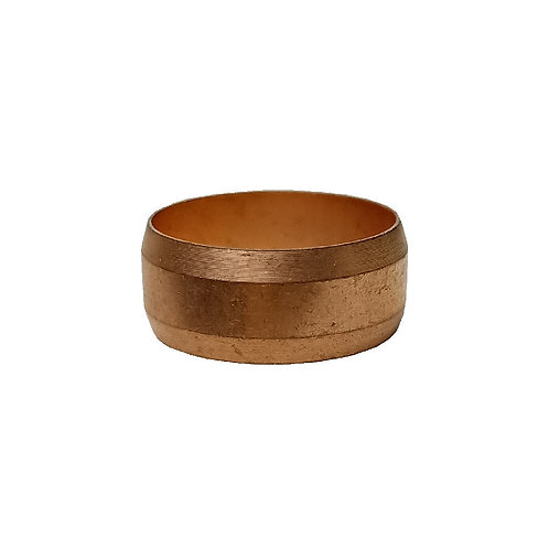 5193 15mm Brass Compression Ring