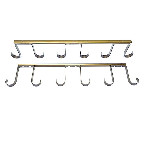 6 Hook Ceiling Hanger (Bronze) Set