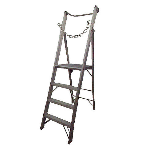 Heavy Duty Platform Ladder with 1M Handle