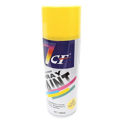 7CF 33 Cream Yellow Spray Paint 400ml