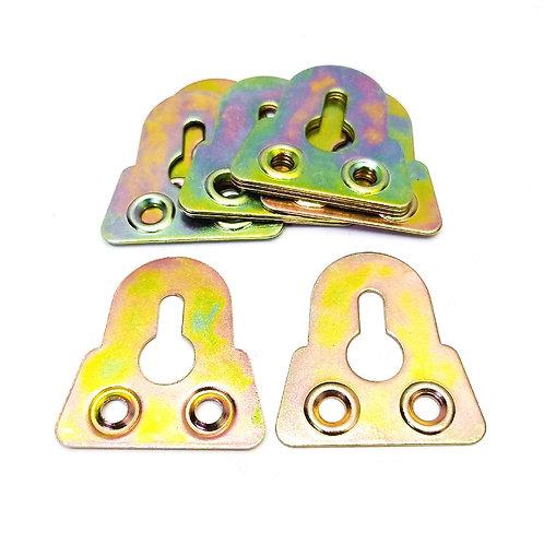1-1/4'' Iron Hanger Plate (5 Gross) 10PCS Pack