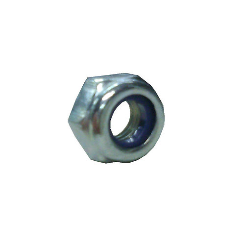 Hex Lock Nut M6 Metal Nylon Insert
