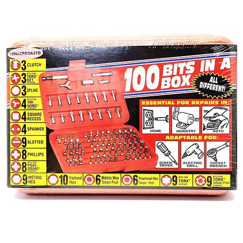 100BS 100PCS Bit & Holder Set 100OSBD3A37D