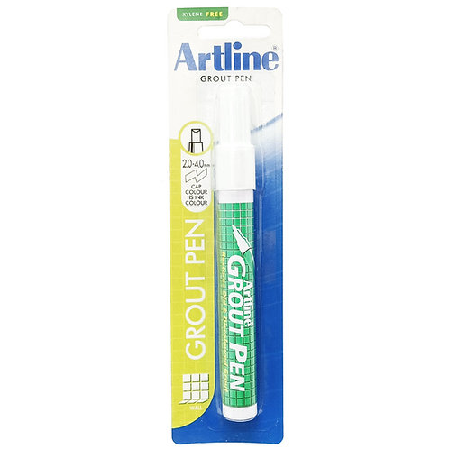 Artline EK-419 Grout Pen White 2.0-4-0mm