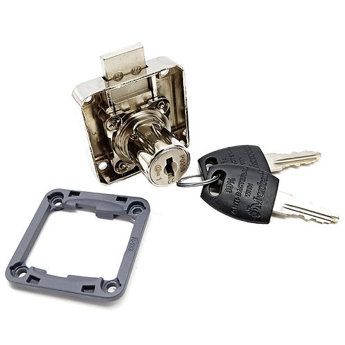 Cyber Lock A614-22 Square Drawer Lock (Thick)
