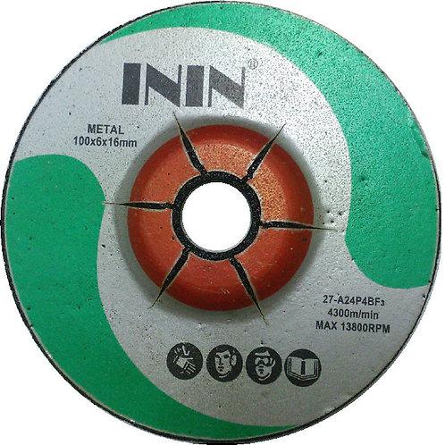 ININ 4''x6mm Grinding Disc