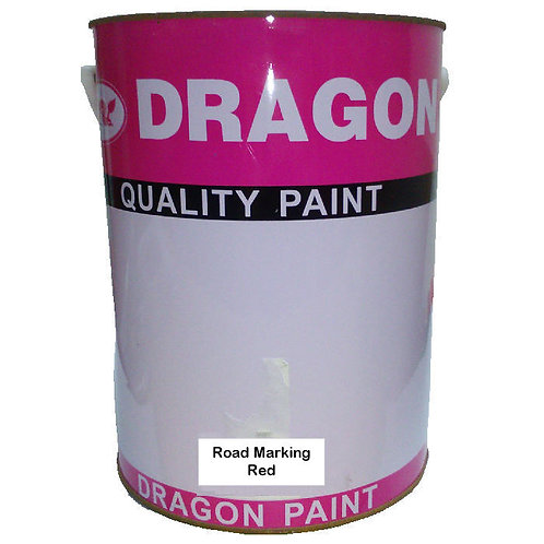 Dragon Quality Paint Road Marking Red 5L