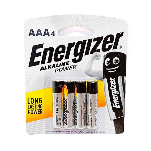 E92-BP4AAA 4xAAA Energizer Alkaline Batteries