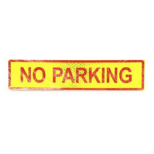 """2""""x9"""" No Parking Label"""