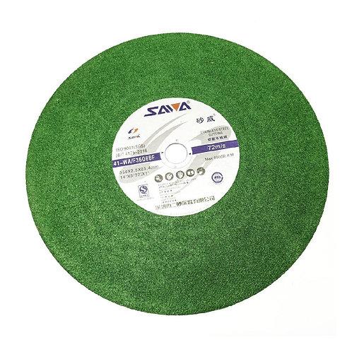 "Sawa 14"" 350X3.0X25.4MM Green Stainless Steel Cutting"
