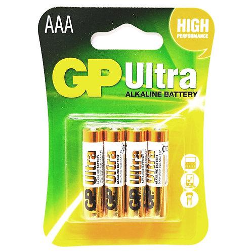 GP-24AU-4AAA GP Ultra Alkaline Batteries