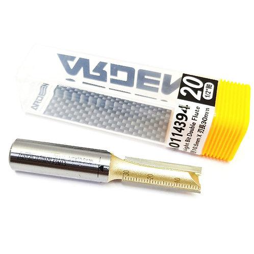 #20 1/2''x10.5mmx30mm Arden Straight Bit Double Flute