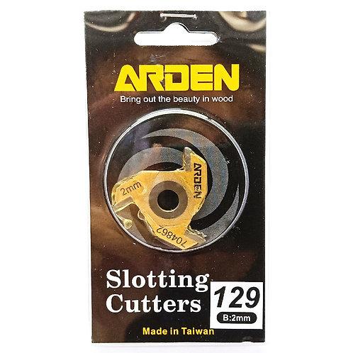 #129 2mm Arden 3 Wing Slotting Cutter